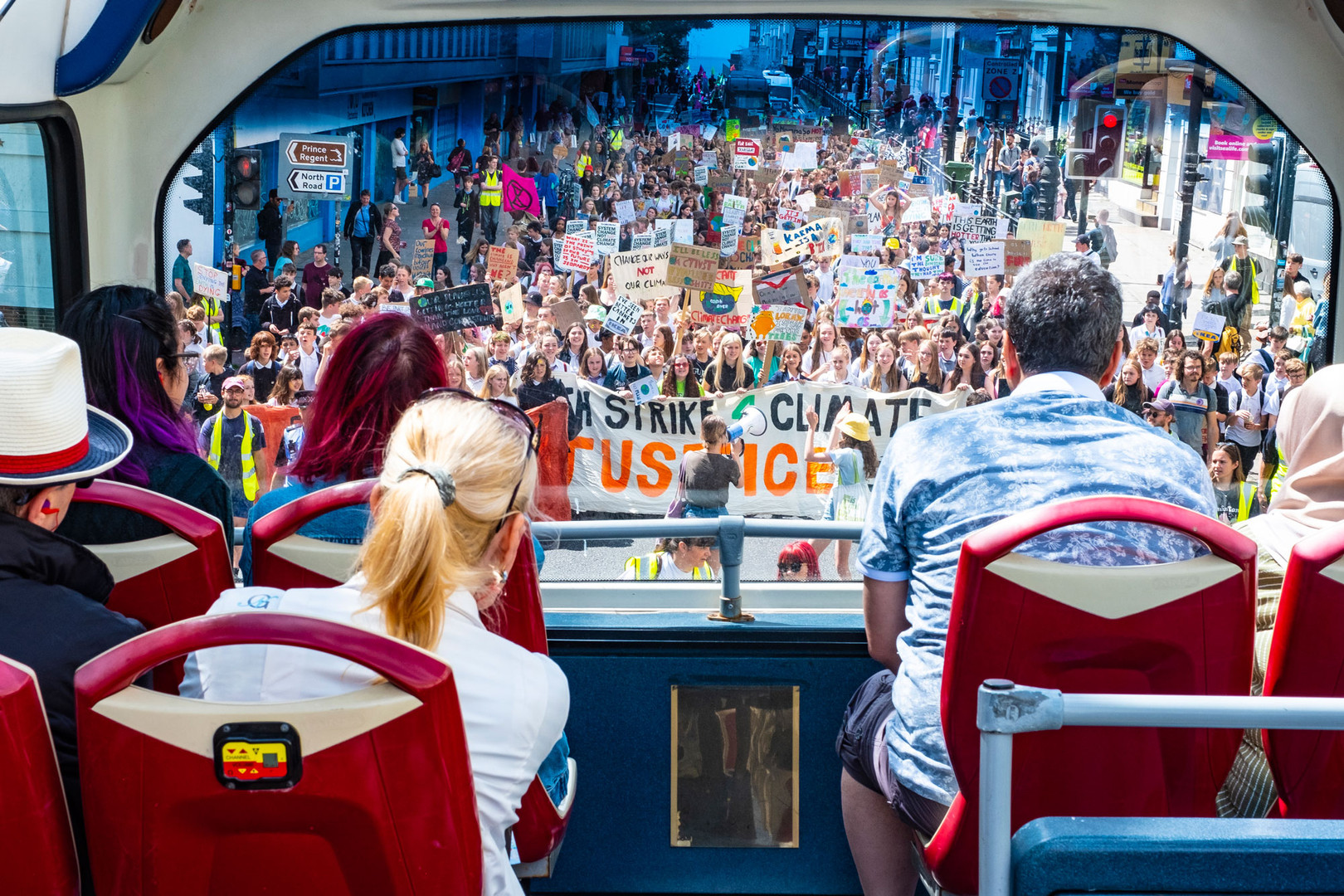 Youth Strike for Climate Change in Brighton