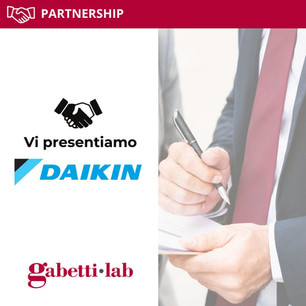 Gabetti Lab annuncia la partnership con DAIKIN!