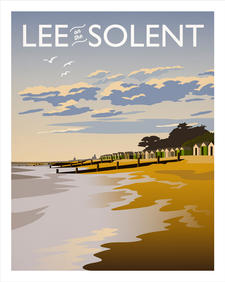 Lee on the Solent Sunset