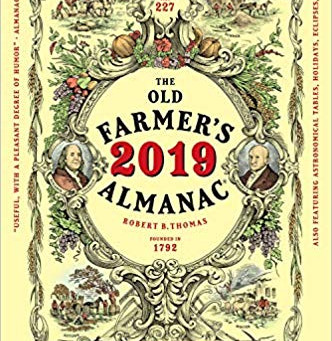 Blame the Old Farmer's Almanac?