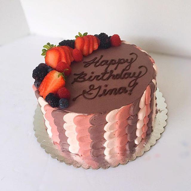 Standard Birthday Cake