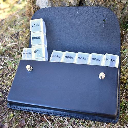 The Jura 7 Day Pill Organiser Black