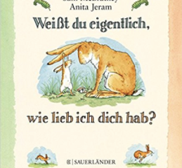 5 BOOKS TO TELL YOUR CHILD: ICH LIEBE DICH