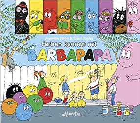 Barbapapas Colors German Board book