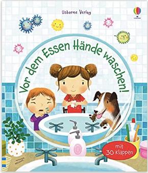 Vor dem Essen Hände waschen