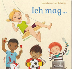 5 DIVERSE CHILDREN'S BOOKS IN GERMAN