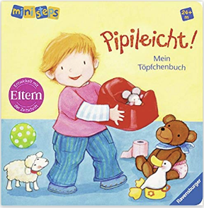 Potty training German board book PIPILEICHT!