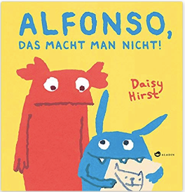 Kids' books in German on siblings
