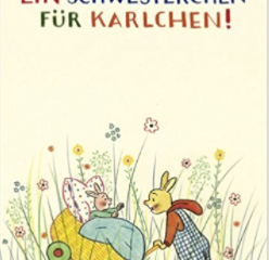 EINER MEHR:  The Best Children's Books in German on New Siblings