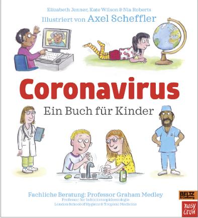 Scheffler CORONAVIRUS Buch für Kinder