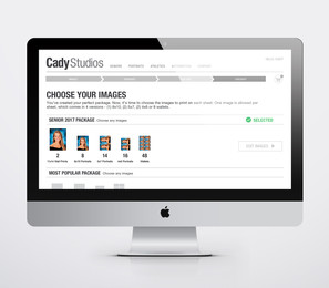 Choose Images for Print Package