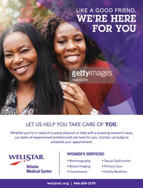 Wellstar Women's Services Flyer