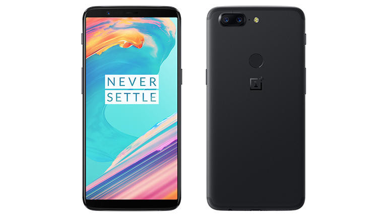 OnePlus 5T on a white background network unlocked