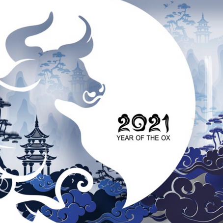 2021 Year of the Yin Metal OX - What can we expect from the Chinese new year?