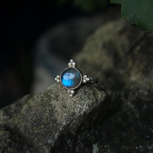 Medieval Labradorite ring