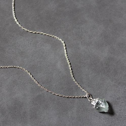 Aquamarine - Silver