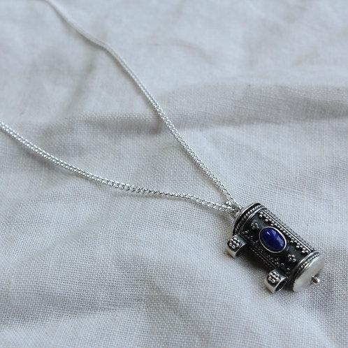 Lapis Lazuli Indian amulet
