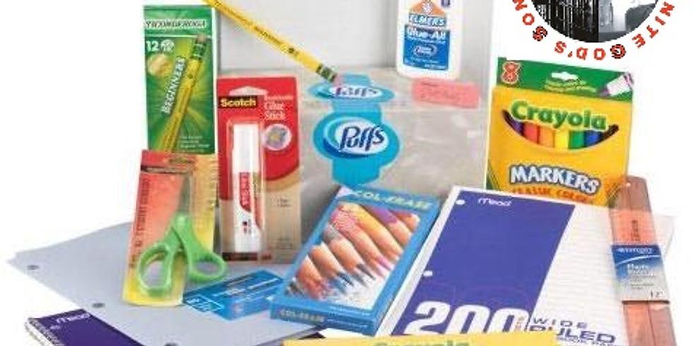 THUGS Inc. School Supply Drive