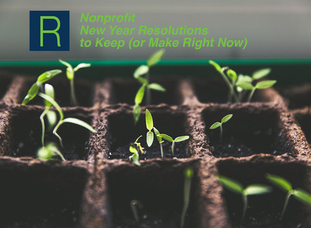Nonprofit New Year Resolutions to Keep (or Make Right Now)