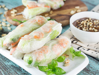 EASY Vietnamese Summer Roll Recipe