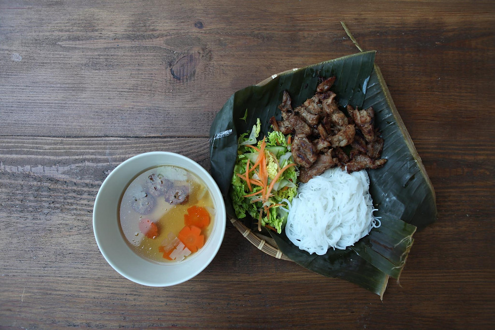 Bún Thịt Nướng at Vietcentric
