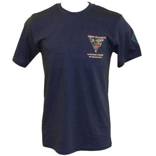 Camiseta Légion Etrangère -azul