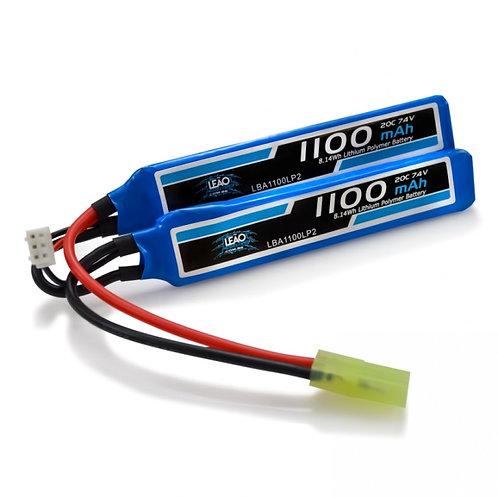 A Bateria LiPo 7.4V 20/40C 1100mAh