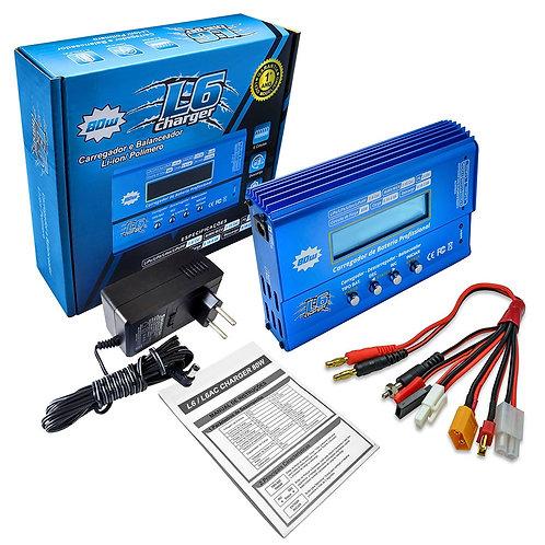 Carregador e Balanceador para Baterias LiPo Leão L6
