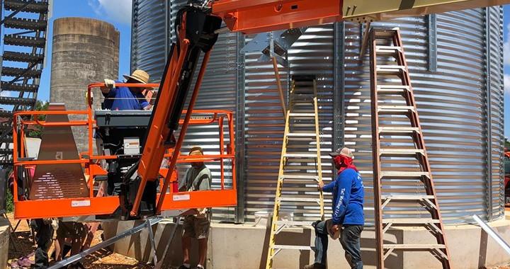 Grain & Storage Bin Installs