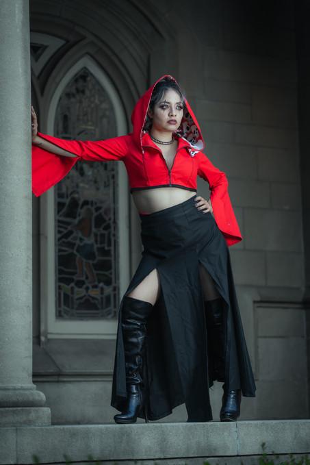 Gothic Fashion shoot