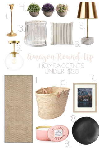 Amazon Round-Up : Home Accents Under $50