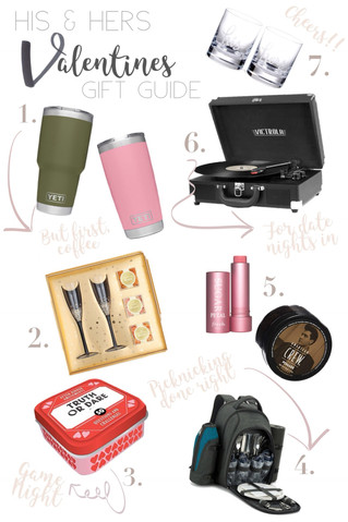 His & Hers Valentines Gift Guide