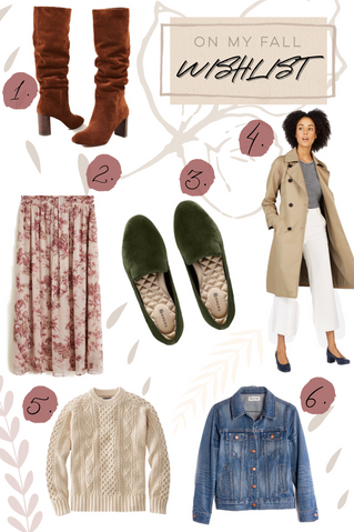 What's On My Wishlist: Fall Edition