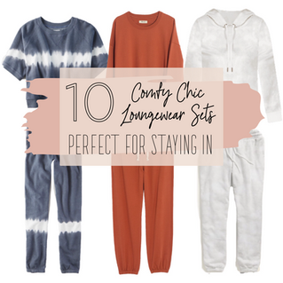 10 Cozy Chic Loungewear Sets, Perfect for Staying In