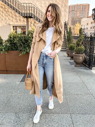 Trench Coat Styling for Spring