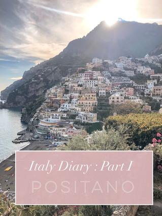 Italy Diary : Part I