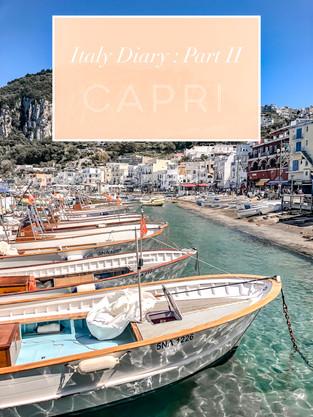 Italy Diary : Part II