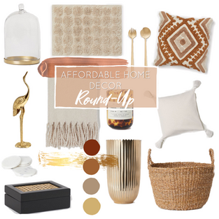 Affordable Home Decor Round-Up