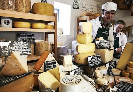 Spotlights: Cheesemongers, the Blues, and Aging Matters