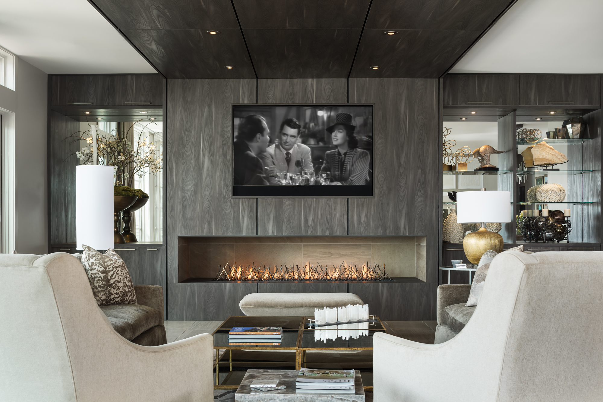 Custom HDTV and Soundbar
