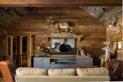 Hunting lodge AV system