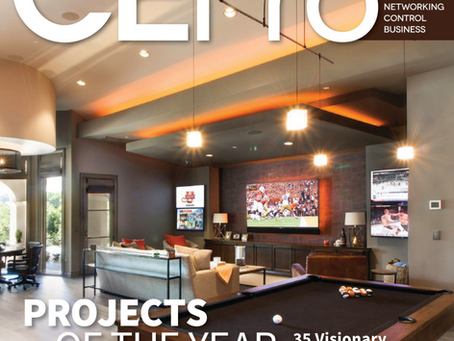 Mozaic AV installation named a CEPro 2018 project of the year!