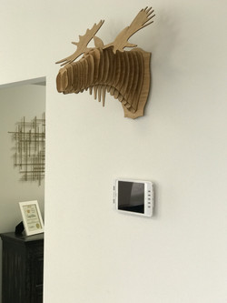 Wall Mounted iPad Design Center