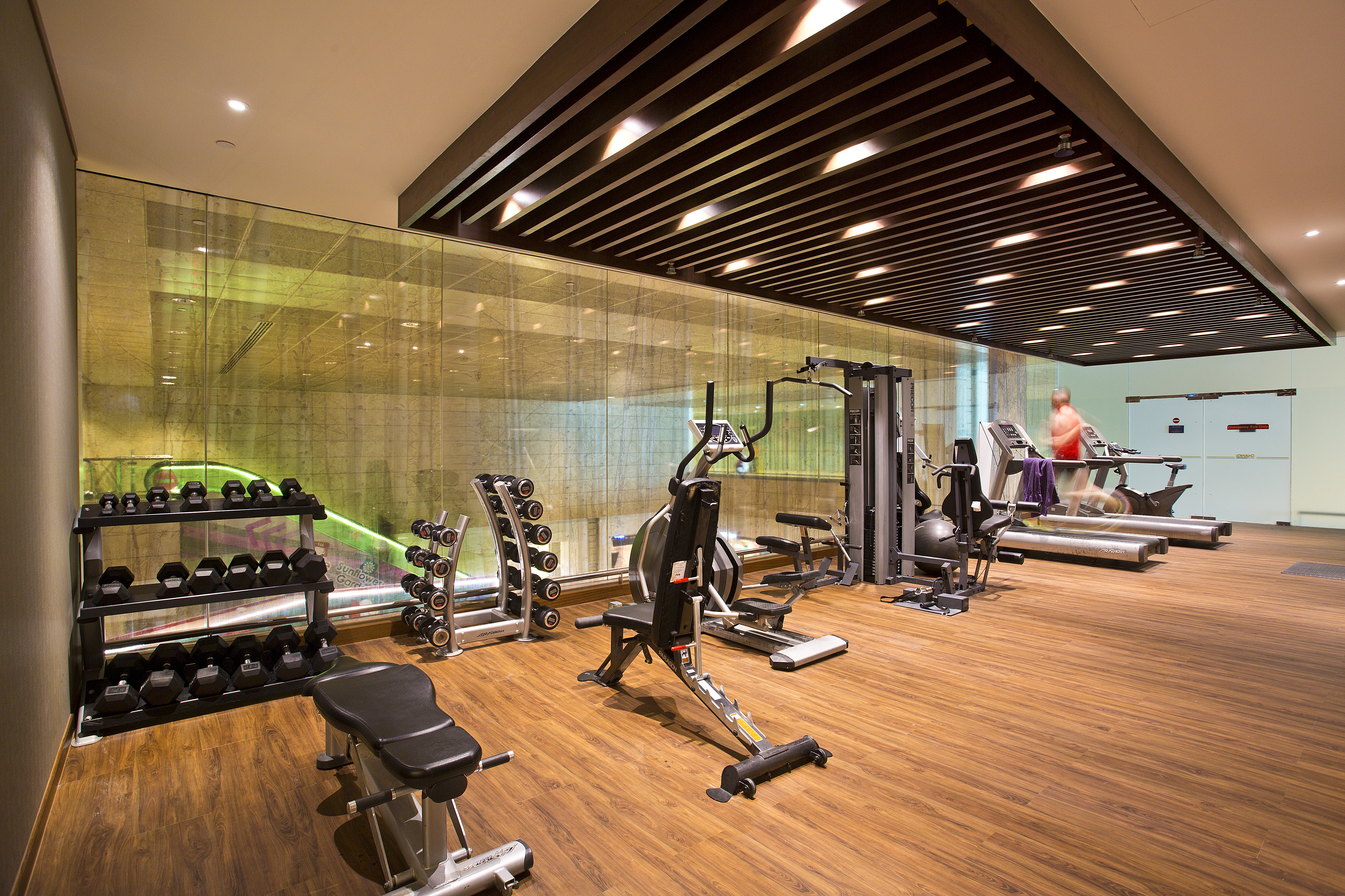 Onsite workout program for ou sia group office photo