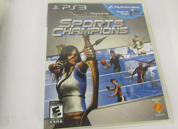 Sports Champions - PS3 Video Game - Used - Good Condition