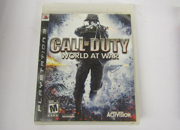 Call Of Duty - PS3 Video Game - Used Good Condition