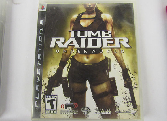 Tomb Raider Underworld - PS3 Video Game - Used - Good Condition