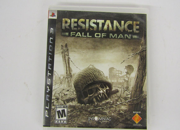 Resistance -Fall of Man - PS3 Video Game - use good condition.