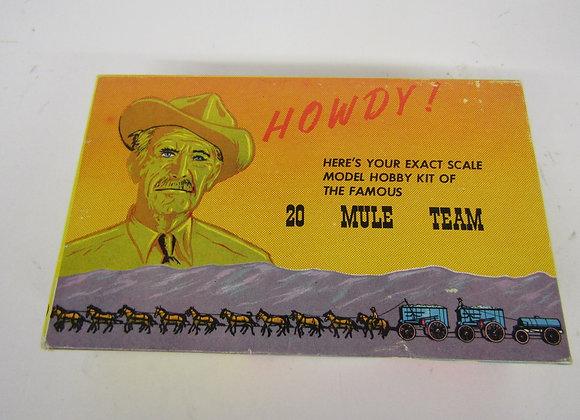 Borax -20 Mule Team - Vintage Model kit