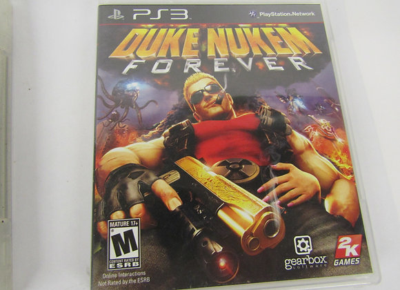 Duke Nukem Forever - PS3 Video Game - Used - Good Condition